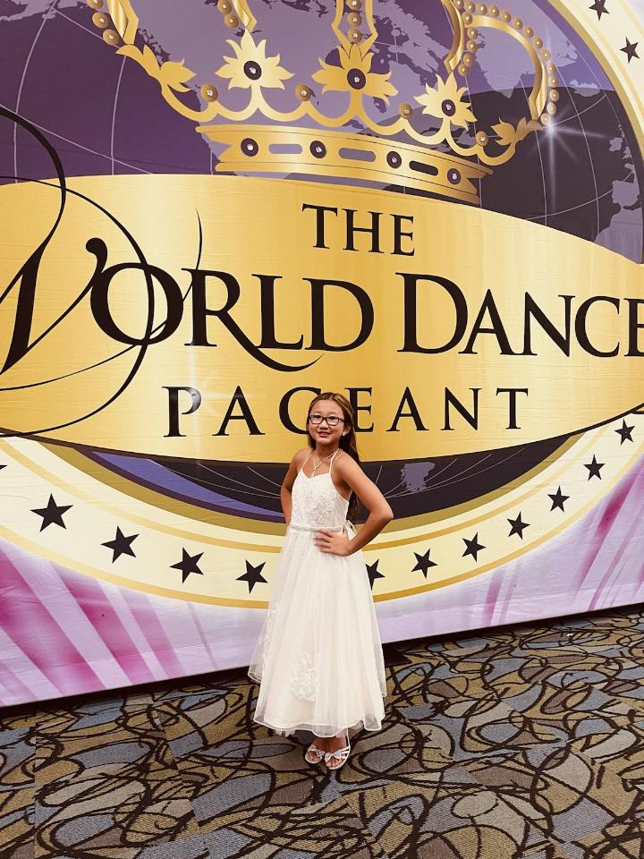AlanaLee at the Word Dance Pageant