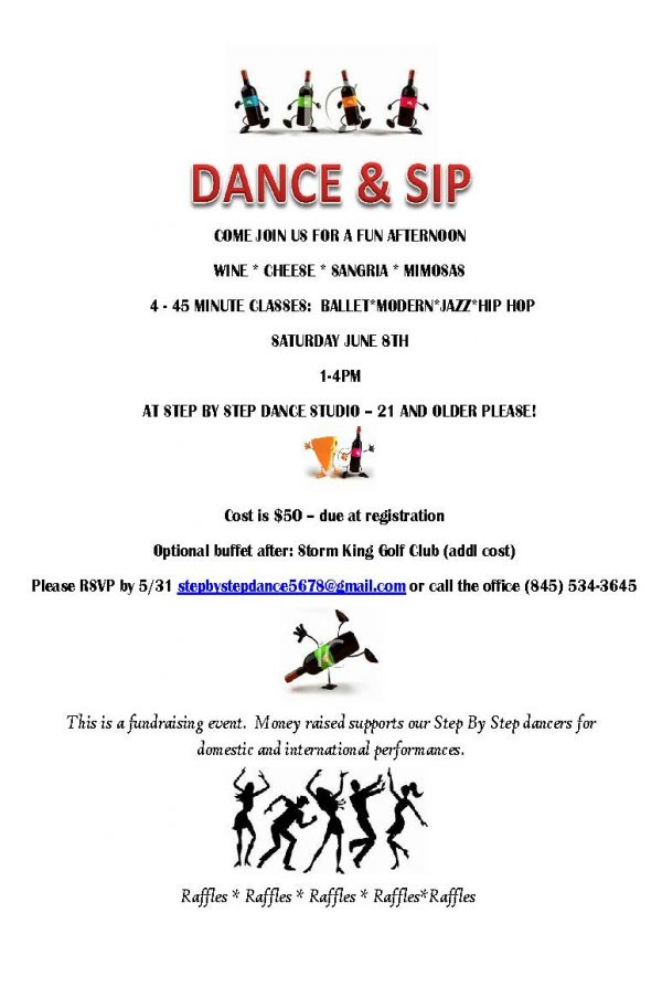 Dance and Sip Flyer