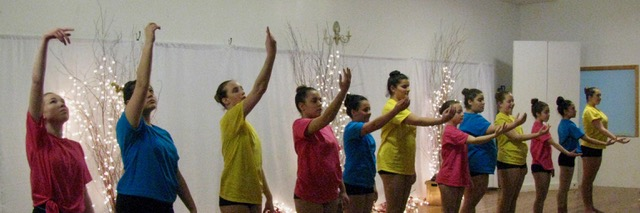 Step by Step dancers at the 3rd annual inviational