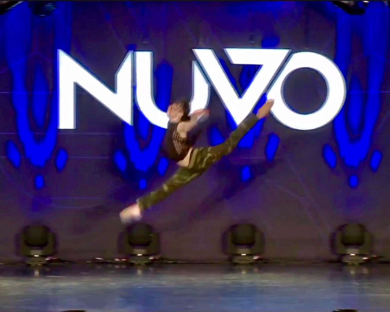 Konnor Kelly at Nuvo Dance Competition