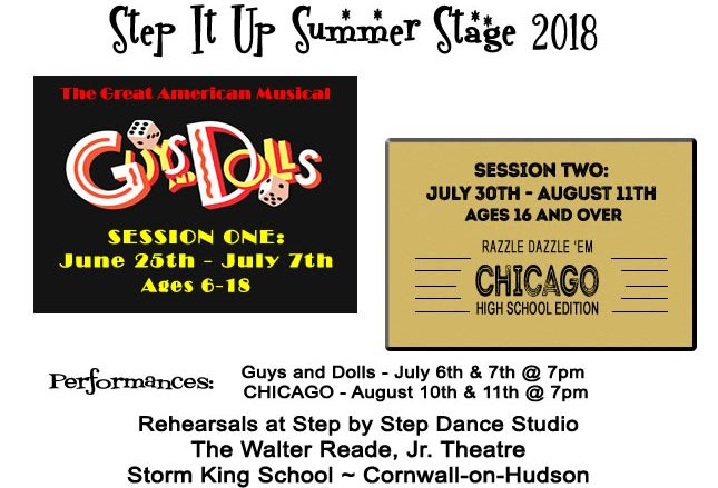 Summer Stage 2018 - Guys and Dolls and Chicago