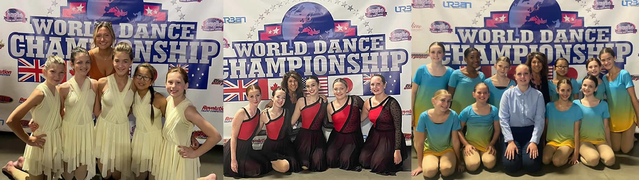 World Dance Champs participants