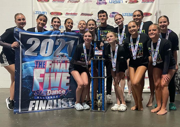 Warriors 2nd out of the FINAL FIVE!