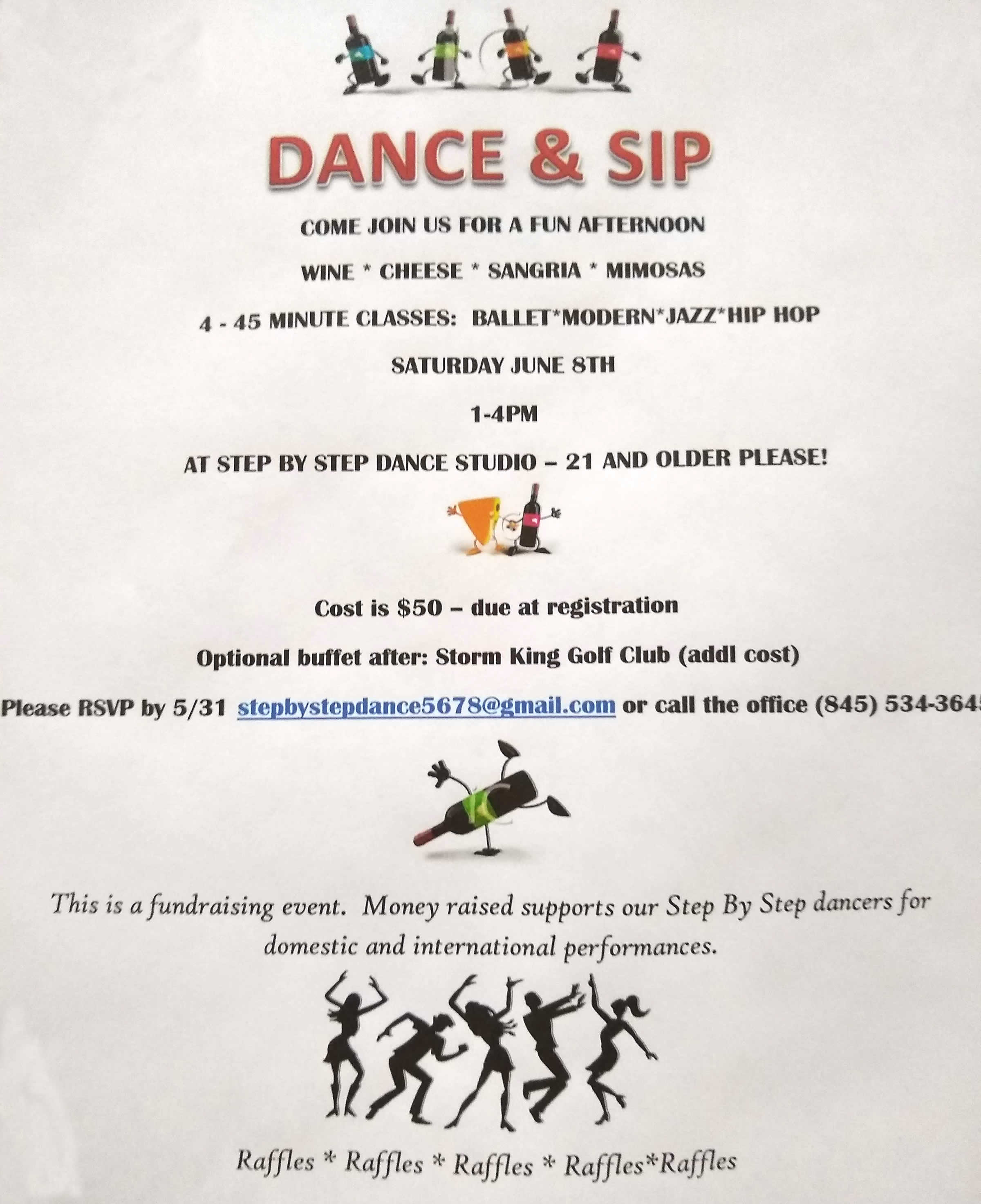 Dance and Sip June 8th