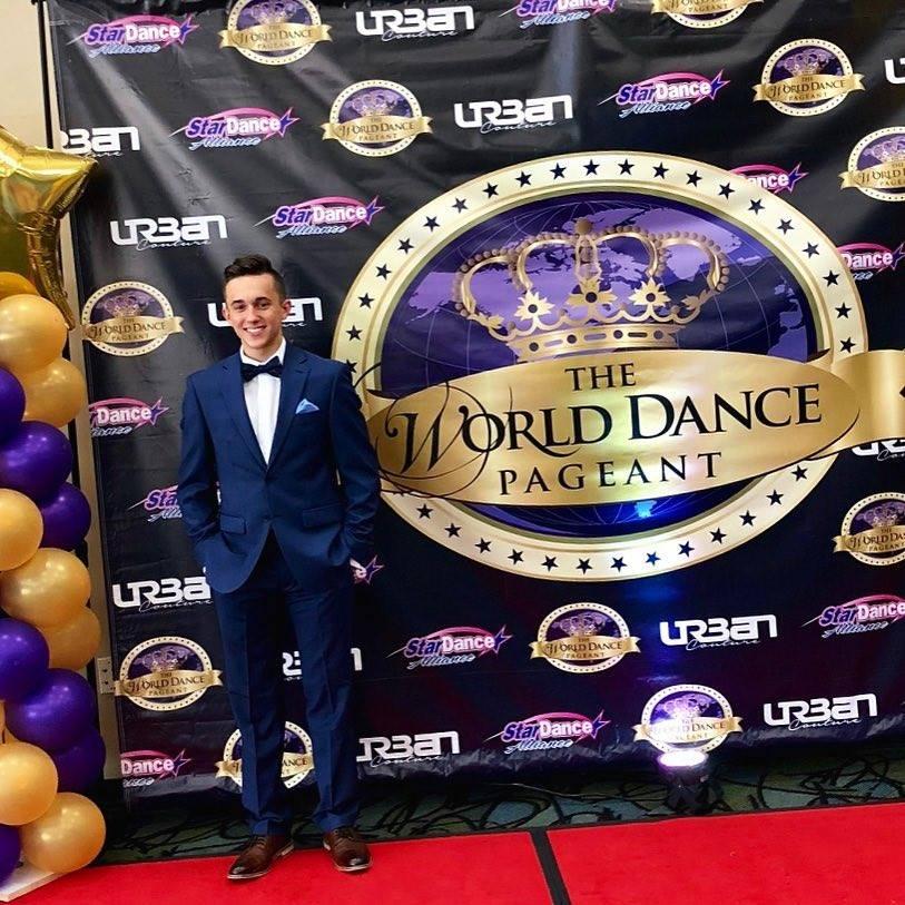 Konnor at World Dance Finals